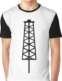 Fracking Tower Graphic T-Shirt