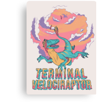 Terminal Velociraptor (Version 2) Canvas Print
