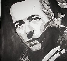 Joe Strummer by Colin  Laing