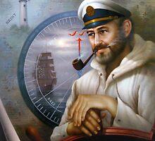 St. Simons Island Map Captain 1 by Yoo Choong Yeul