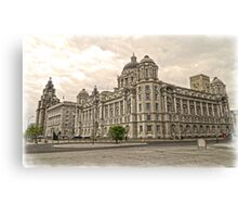 The 3 Graces of Liverpool Canvas Print