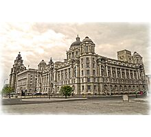The 3 Graces of Liverpool Photographic Print