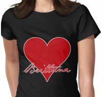 Brittana Womens Fitted T-Shirt