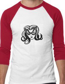 Catgirl Men's Baseball ¾ T-Shirt