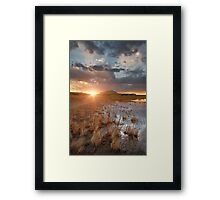 Divide Framed Print