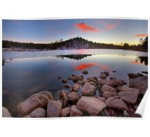 Last Light- Goldwater Lake Poster