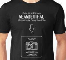 Neanderthal Caught on Film Unisex T-Shirt