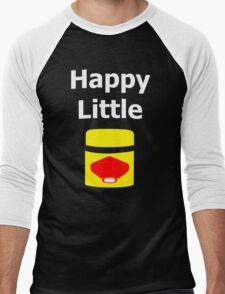 Happy Little Vegemite Men's Baseball ¾ T-Shirt