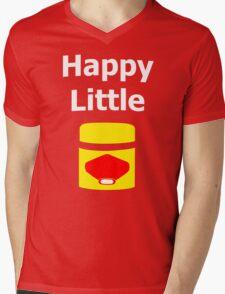 Happy Little Vegemite Mens V-Neck T-Shirt