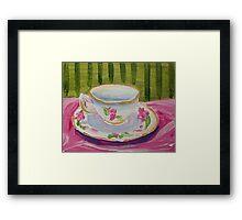 Afternoon Tea Time Framed Print