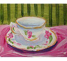 Afternoon Tea Time Photographic Print