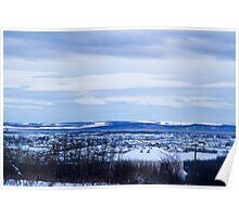 Blue Sky City Poster