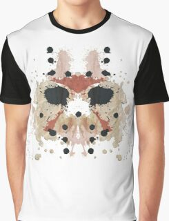 Jason Voorhees Friday the 13th Mask Inkblot Graphic T-Shirt