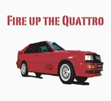 Fire up the Quattro by pandagoo