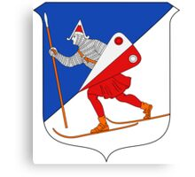 Lillehammer Coat of Arms  Canvas Print