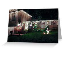 Festive House #2  Greeting Card