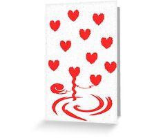 Hearts Entangled Greeting Card
