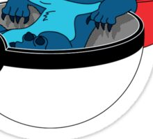 Stitch Pokeball Sticker