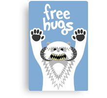 Monster Hugs Canvas Print
