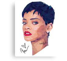 Girls Love Rihanna Canvas Print