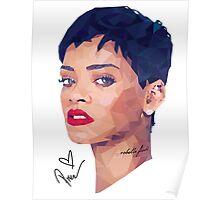Girls Love Rihanna Poster