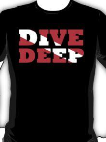 SCUBA DIVING DEEP DIVE FLAG T-Shirt