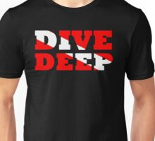 SCUBA DIVING DEEP DIVE FLAG Unisex T-Shirt