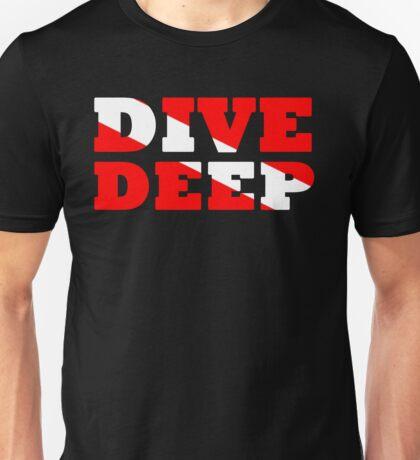 SCUBA DIVING DEEP DIVE FLAG Unisex T-Shirt