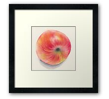 Fallen apple Framed Print