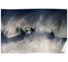 Monster Waves At Waimea Bay .2 Poster
