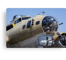 Bomber at show Canvas Print