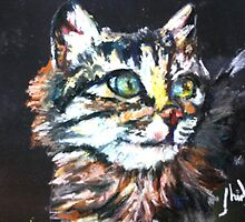 Cat portrait by Shirlroma