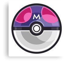 Pokemon Master Ball Canvas Print