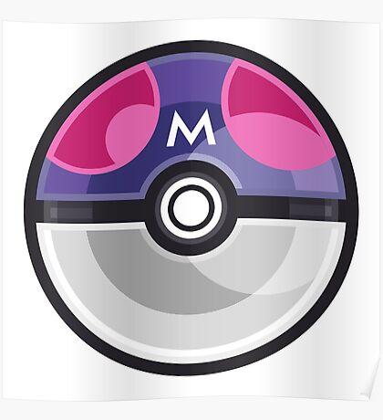 Pokemon Master Ball Poster