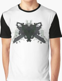 Leatherface Texas Chainsaw Massacre Inkblot  Graphic T-Shirt