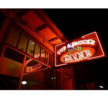 cup & saucer cafe Photographic Print