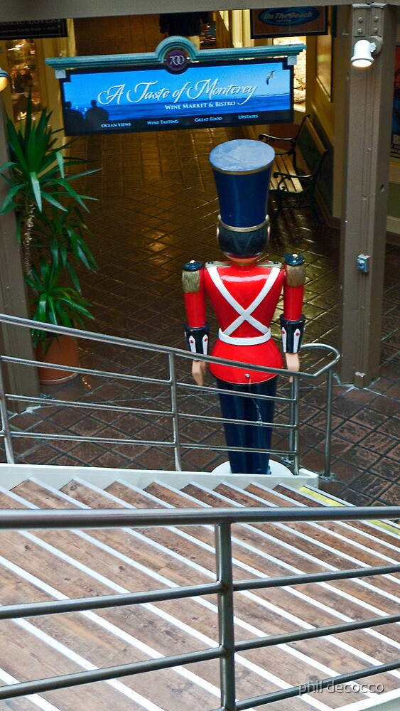 Nutcracker Stairs by phil decocco