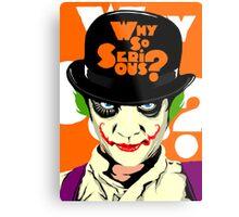 A Clockwork Joker - Serious Droog Metal Print
