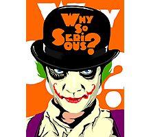 A Clockwork Joker - Serious Droog Photographic Print