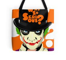 A Clockwork Joker - Serious Droog Tote Bag