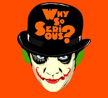 A Clockwork Joker - Serious Droog Unisex T-Shirt