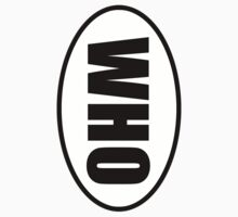 Who - European Style Oval Country Code Sticker by fohkat