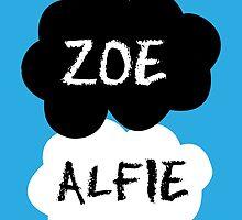 ZOE & ALFIE (Zoella & PointlessBlog) - TFIOS Design by enduratrum