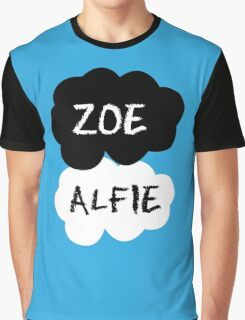 ZOE & ALFIE (Zoella & PointlessBlog) - TFIOS Design Graphic T-Shirt