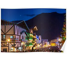 Christmas Festival in Leavenworth Poster