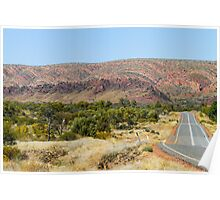 West Macdonnell Ranges, NT Poster