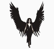 Dark Angel - Black by Maynard Ellis