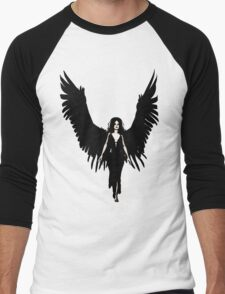 Dark Angel - Black Men's Baseball ¾ T-Shirt