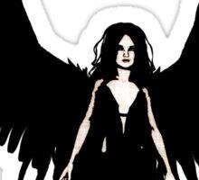 Dark Angel - Black Sticker