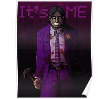 FNAF - Purple Guy is real Poster